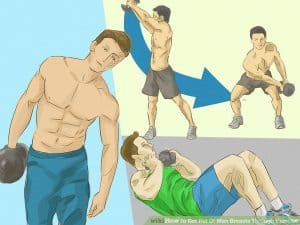 Get Rid Of Chest Fat Using Exercises