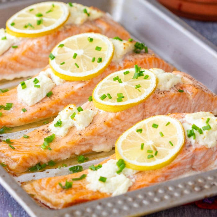 Salmon Is A Great Source Of Protein And Omega 3 Oils.
