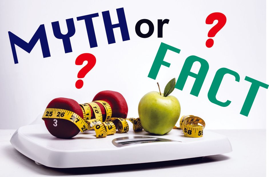 Diet Myth About Weight Loss